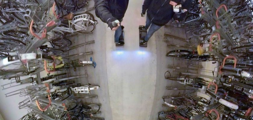 Eigenaren van een PLEV hebben geen fietsenstalling nodig