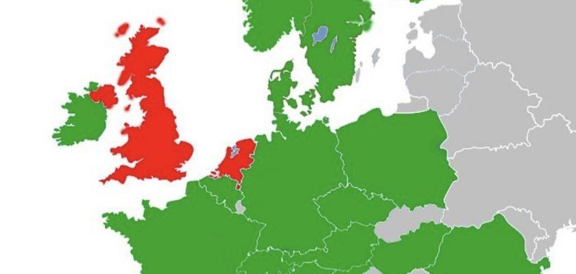 Nederland loopt achter in Europa