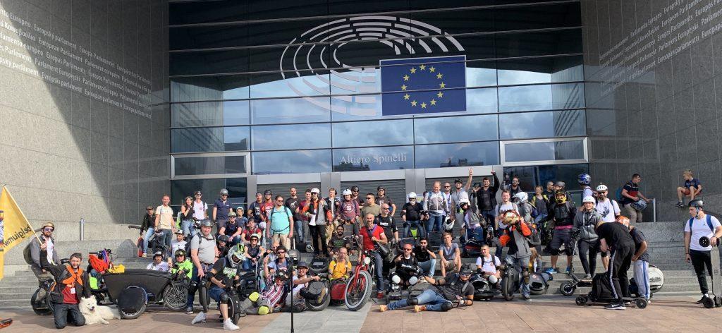 Deelnemers EU conferentie over micromobiliteit: stedelijke mobiliteit moet nu op de schop