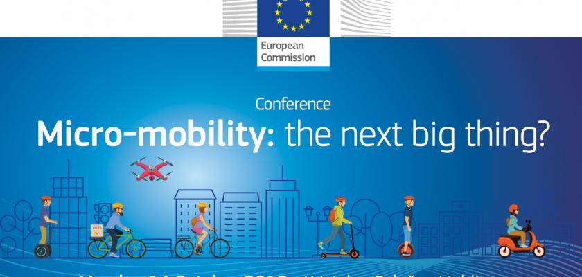Europese commissie gaat conferentie houden over micromobiliteit