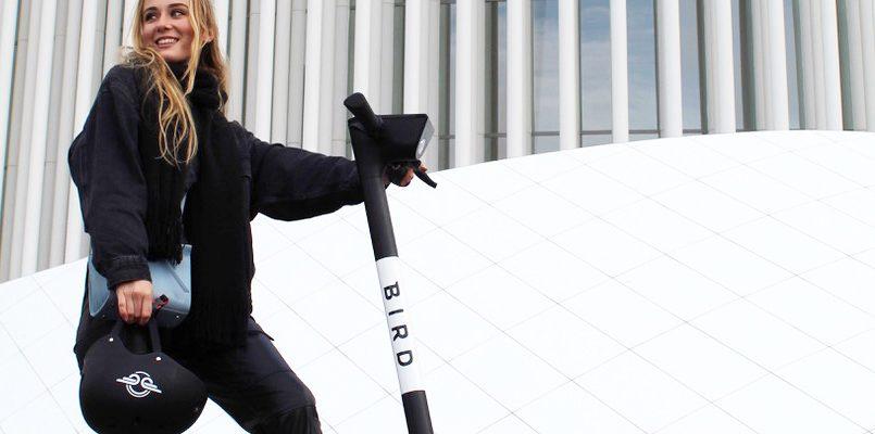 Luxemburg heeft Bird deelsteps gekregen via guerrilla marketing