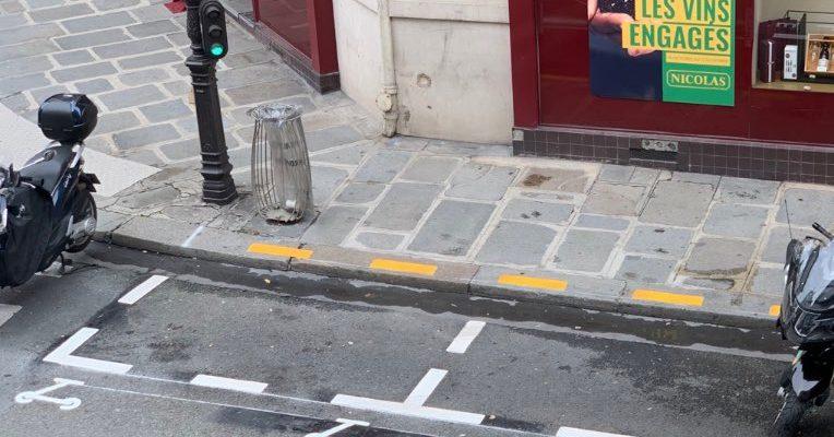 Parijs heeft parkeervakken voor elektrische deelsteps
