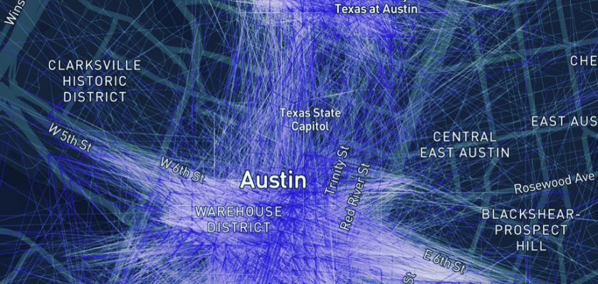 Hoe de e-step de auto vervangt in het centrum van Austin