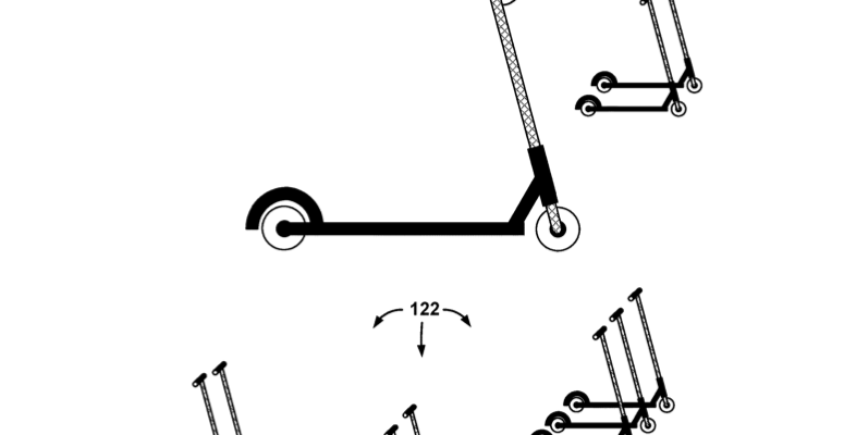 Bird heeft patent gekregen op het elektrische deelstep concept
