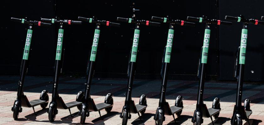 Segway Ninebot ES4 deelsteps van Bolt gaan 5 maanden mee