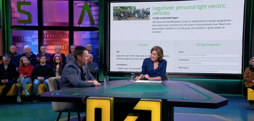 PLEV petitie legaalrijden.nl in consumentenprogramma KASSA van BNN/VARA