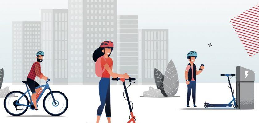 CO2-voetafdruk van een PLEV is lager dan van een fiets