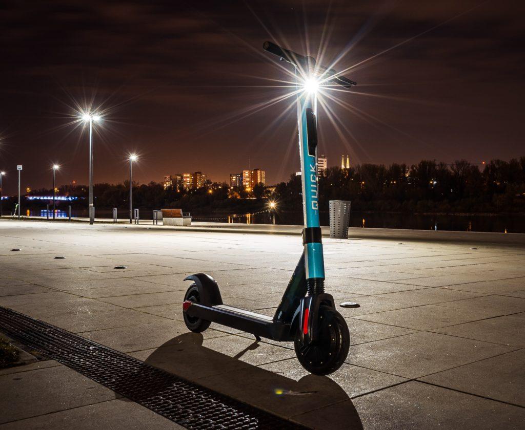 E-steps zijn een stuk veiliger dan een fiets in de VS