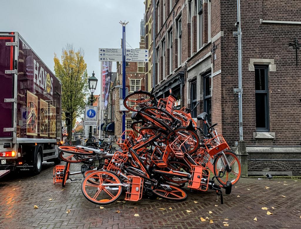 Deelfietsverhuurder Mobike raakt 500 fietsen per dag kwijt