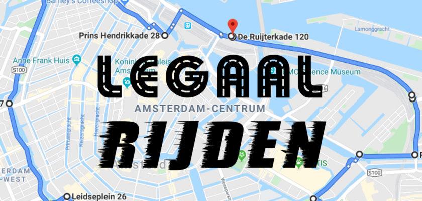 Openbaar Ministerie en politie akkoord met Legaalrijden.nl demo in Amsterdam
