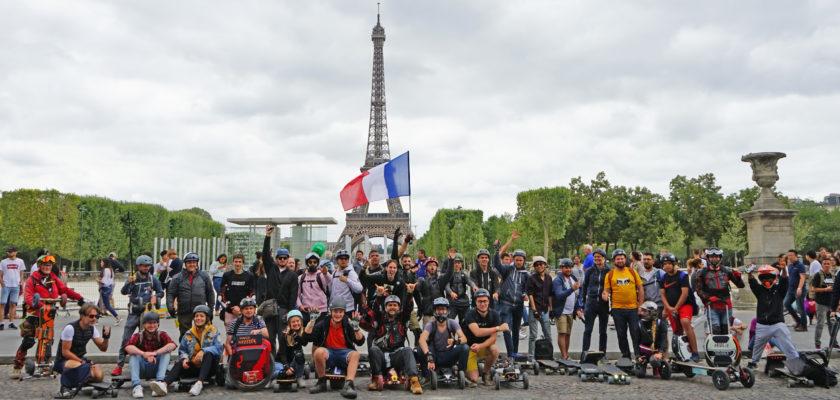 Explosieve groei van persoonlijke elektrische verplaatsings voertuigen in Frankrijk
