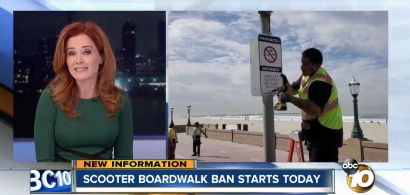 Huursteps zorgen voor verbod van e-voertuigen op boulevard in San Diego