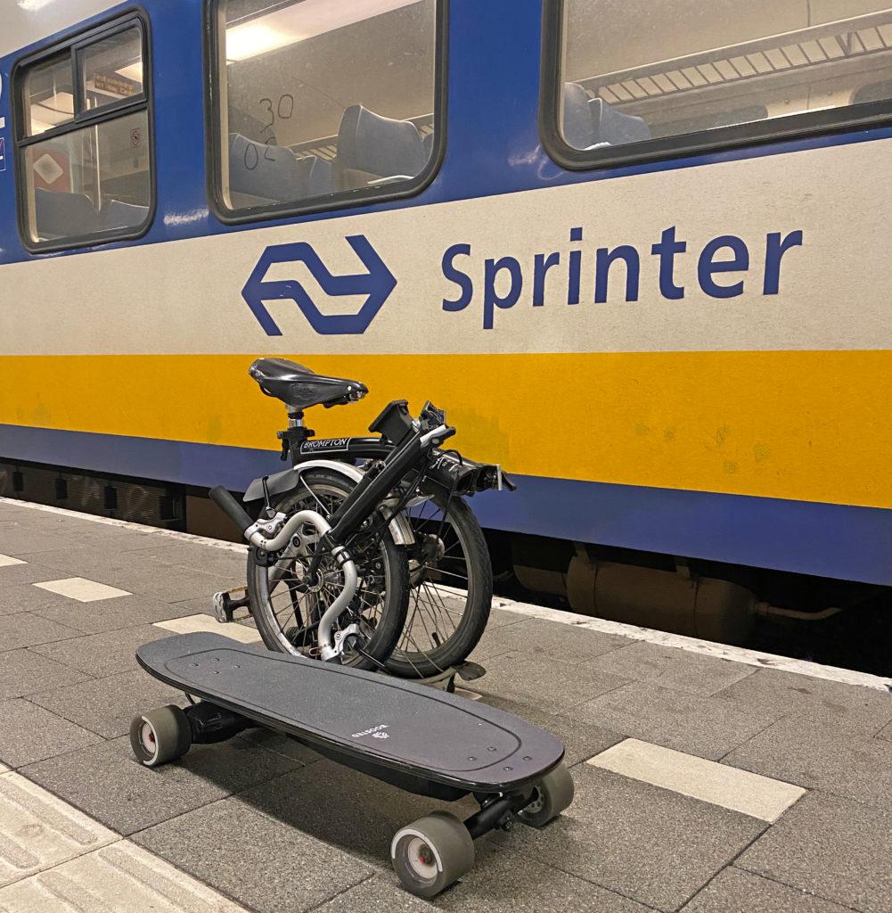 LEV kan gratis mee in de trein en zonder reservering