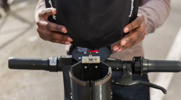 Franse deelstep leverancier Dott test prototype van oplaashelm