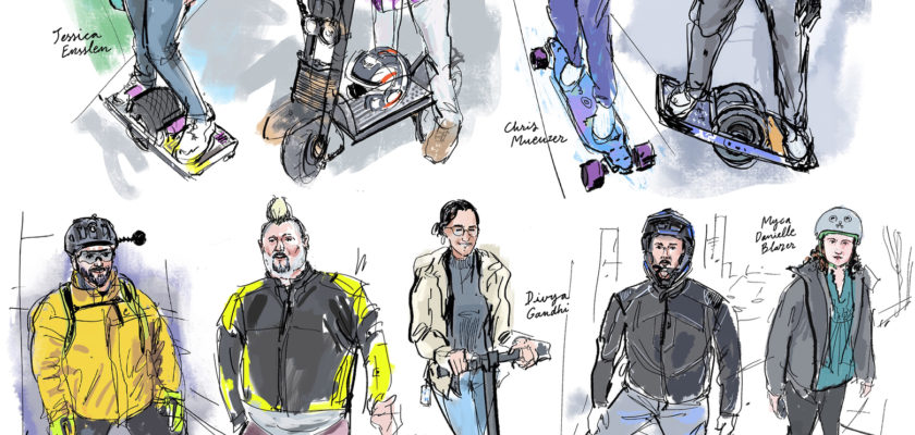 Gouden eeuw voor e-riders in aantocht