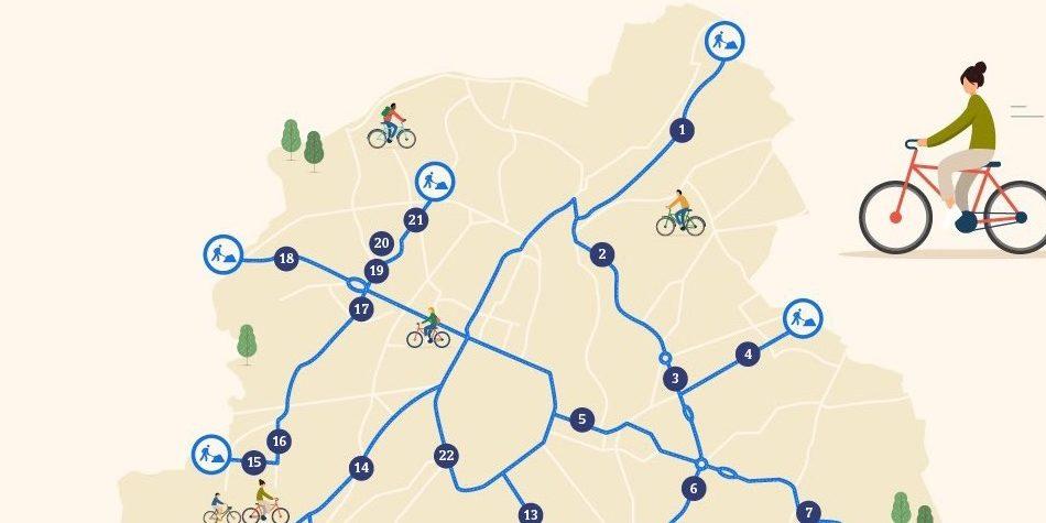 Europese steden worden in recordtempo geschikt gemaakt voor LEV's en de fiets