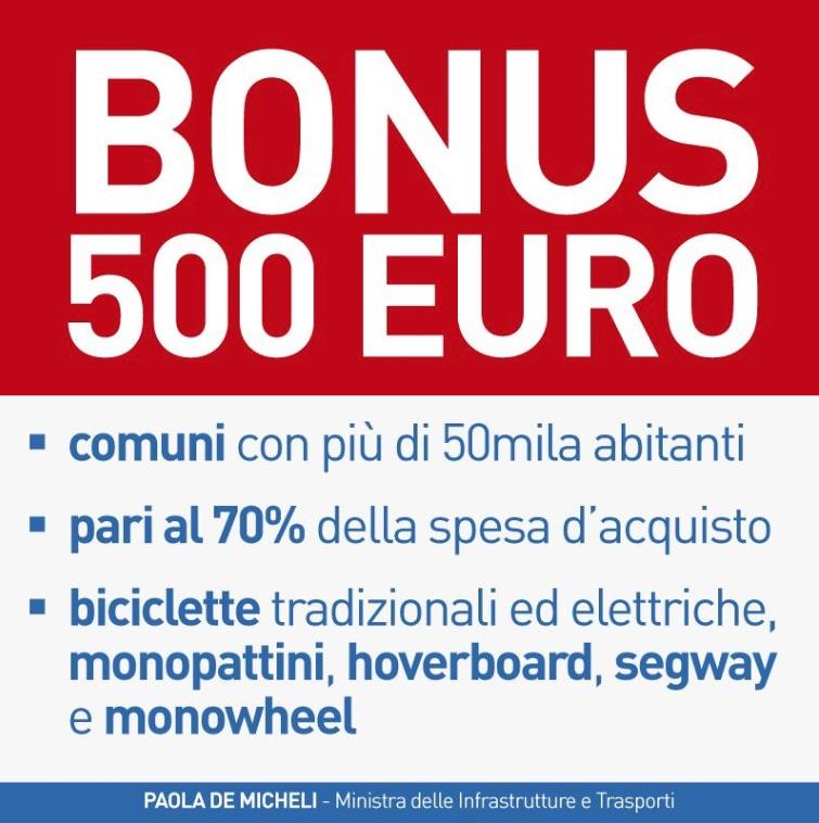 In Nederland kennen we het kwartje van Kok, in Italië hebben ze de €500 van Micheli