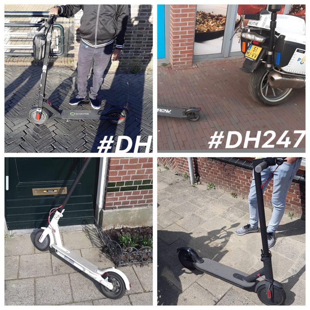 Motoragent van Politie eenheid Den Haag heeft een nieuwe hobby in Leiden