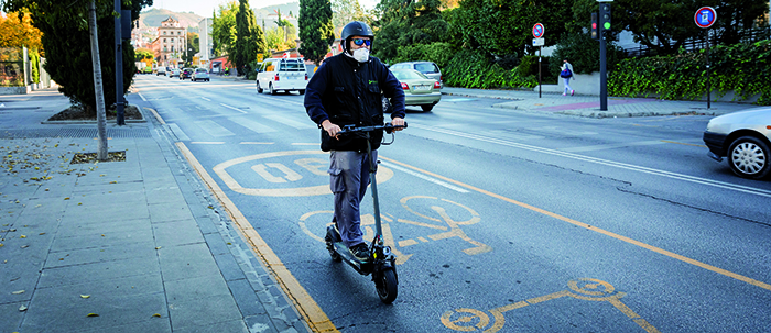 LEVs noemen ze in Spanje Persoonlijke Mobiliteits Voertuigen