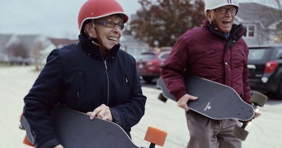 Is een niet elektrisch longboard veiliger dan een geëlectrificeerd longboard