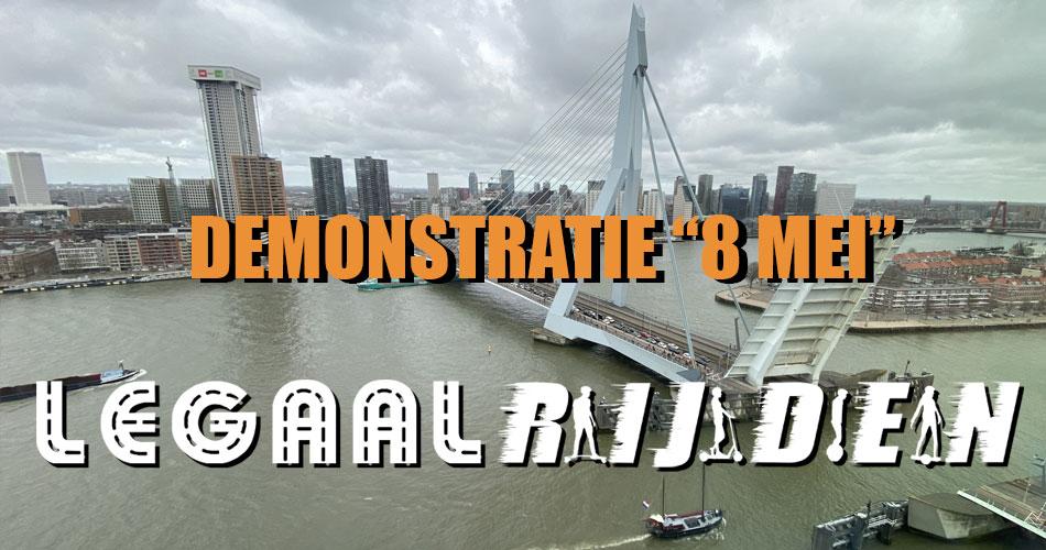 Gaan we op 8 mei nog demonstreren in Rotterdam?