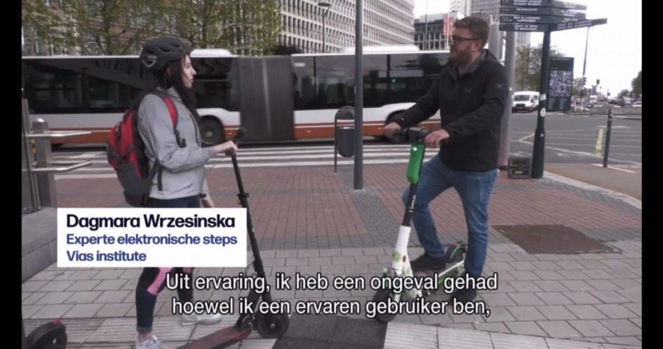 Ongevallen met (deel)step in Antwerpen veroorzaken vaak hoofdletsel