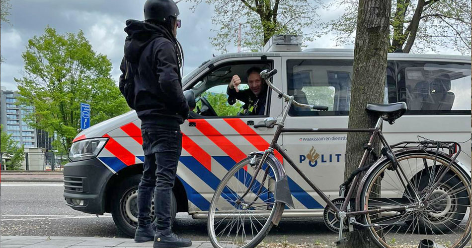 Politie geeft LEV gebruikers voortaan eerst waarschuwing of boete van €280