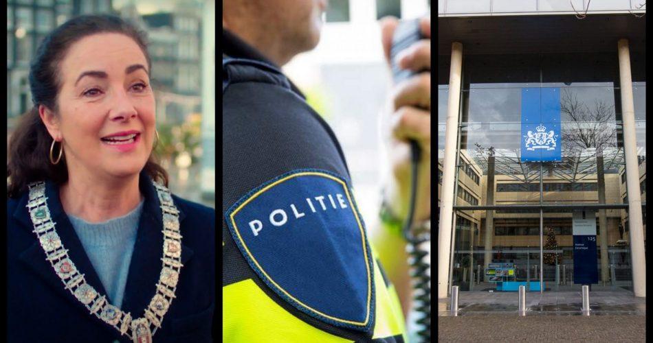 Driehoek Amsterdam verbied Legaalrijden demonstratie
