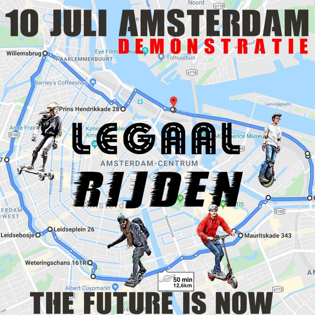 Al meer dan 200 aanmeldingen voor onze LEV demonstratie in Amsterdam op 10 juli