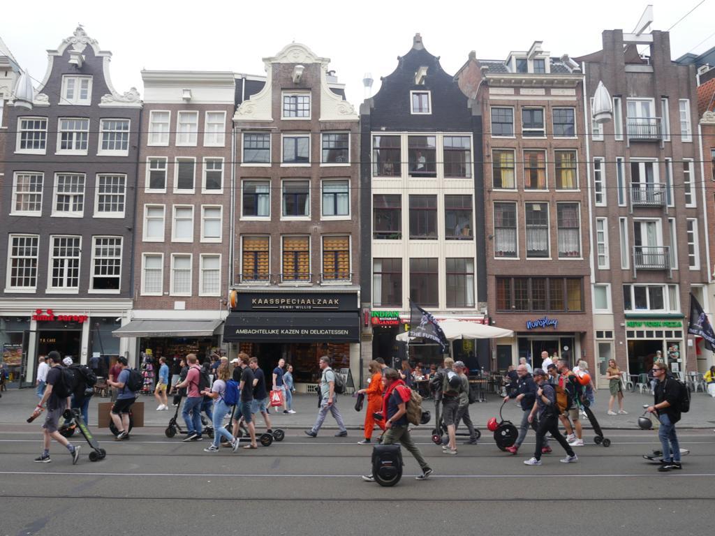 Hoe was de Legaalrijden demonstratie in Amsterdam?