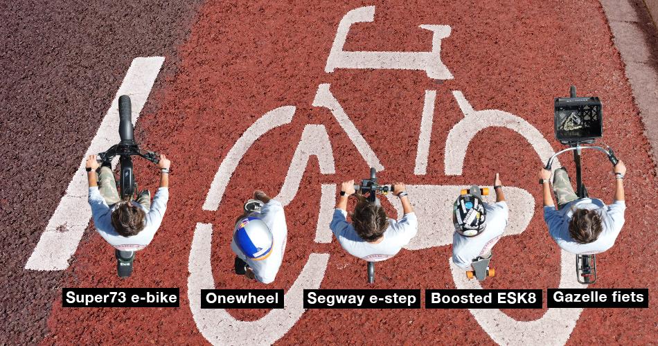 Komst van LEVs op het fietspad chefsache bij de Telegraaf