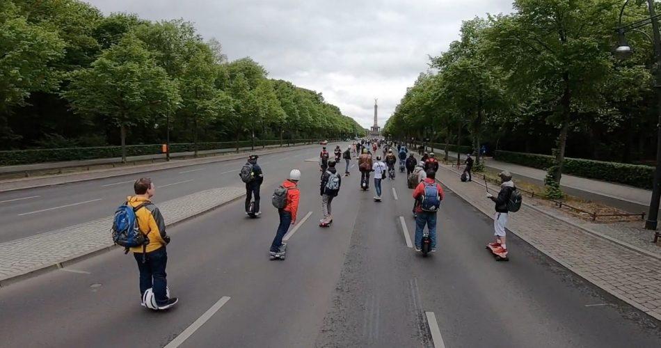 18 september demonstratie in Berlijn voor en door LEVs zonder stuur